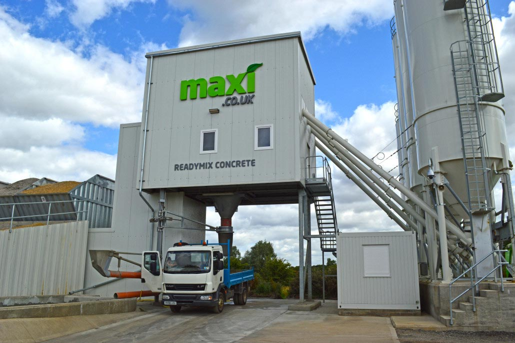 Readymix Concrete Collection From Whetstone Concrete Plant in Leicester